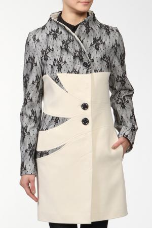 Пальто Elegant Ledy. Цвет: белый