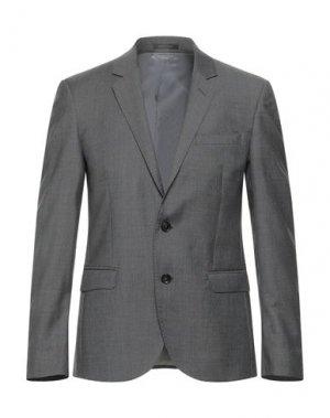 Пиджак TRUSSARDI. Цвет: стальной серый