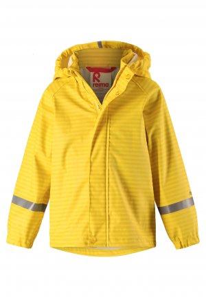 Куртка-дождевик Vesi Желтая Reima. Цвет: желтый