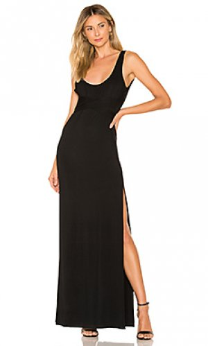 Макси платье zaria Privacy Please. Цвет: черный