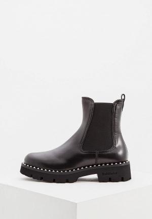 Ботинки Baldinini BA097AWCEGN1. Цвет: черный