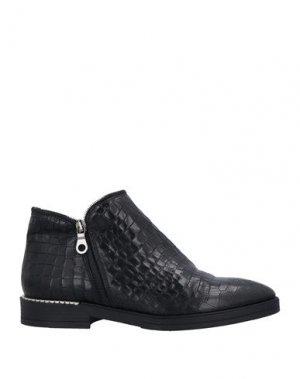 Полусапоги и высокие ботинки CREATIVE. Цвет: черный