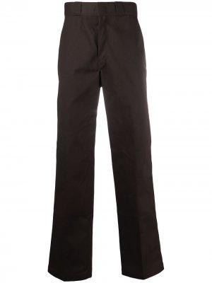 Широкие брюки свободного кроя DICKIES. Цвет: коричневый