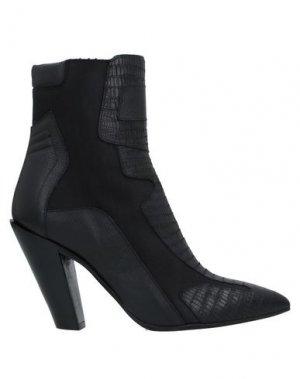 Полусапоги и высокие ботинки A.F.VANDEVORST. Цвет: черный
