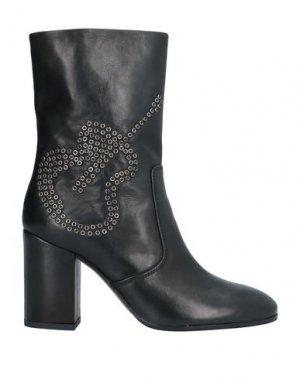 Полусапоги и высокие ботинки FABI. Цвет: черный