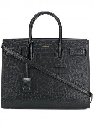Sac de Jour tote bag Saint Laurent. Цвет: черный