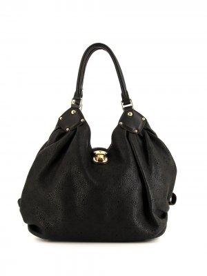 Сумка-тоут pre-owned Louis Vuitton. Цвет: черный