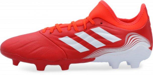 Бутсы мужские adidas Copa Sense.3 FG, размер 40. Цвет: красный