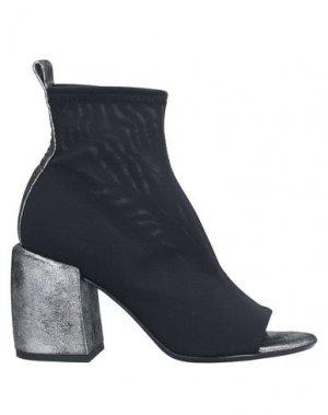 Полусапоги и высокие ботинки FRU.IT. Цвет: черный