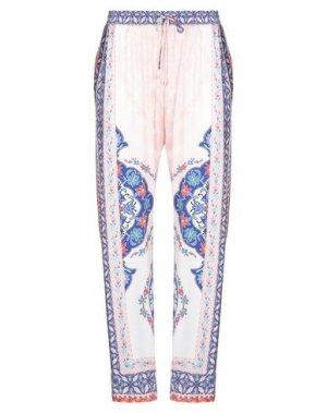 Повседневные брюки HALE BOB. Цвет: светло-розовый