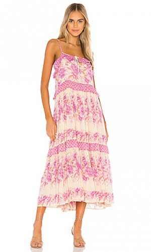 Платье миди coco lei Spell & The Gypsy Collective. Цвет: фиолетовый
