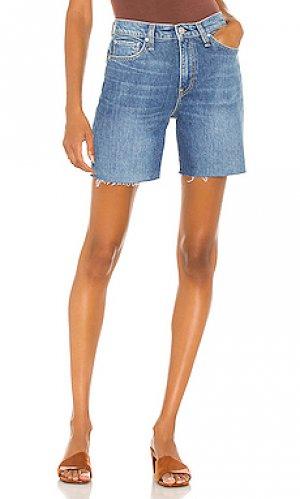 Шорты hana Hudson Jeans. Цвет: синий