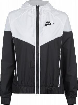 Ветровка женская Sportswear Windrunner, размер 46-48 Nike. Цвет: черный