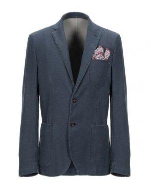 Пиджак MARTIN ZELO. Цвет: грифельно-синий
