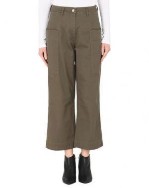 Повседневные брюки CALVIN KLEIN JEANS. Цвет: зеленый-милитари