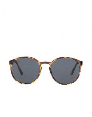 Солнечные очки LE SPECS. Цвет: коричневый