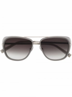 Солнцезащитные очки-авиаторы M3023 Matsuda. Цвет: серебристый