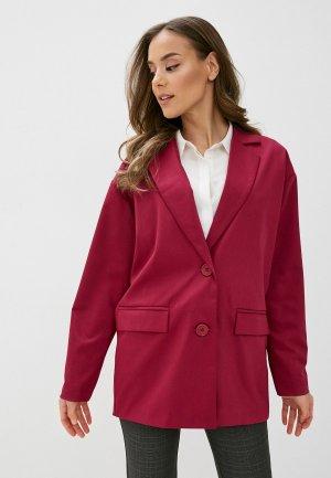 Пиджак Bezko. Цвет: розовый