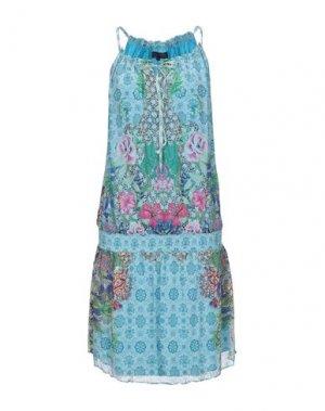 Платье до колена HALE BOB. Цвет: лазурный