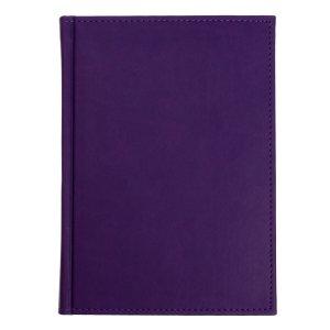 Ежедневник датированный а5 на 2022 год, 168 листов, обложка искусственная кожа vivella, фиолетовый Calligrata