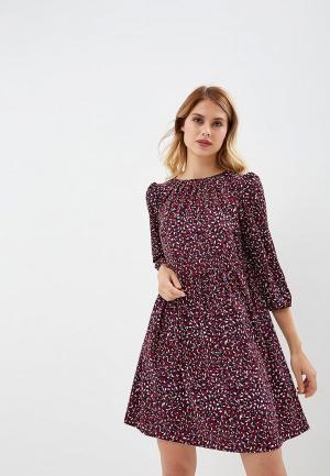 Платье AlexandraKazakova. Цвет: бордовый