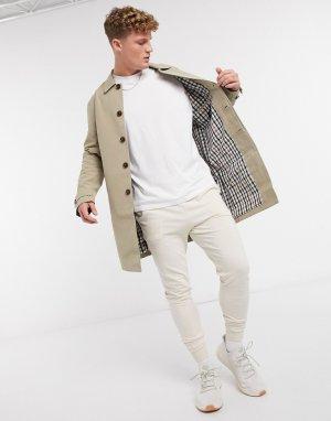 Макинтош светло-коричневого цвет -Светло-коричневый Burton Menswear