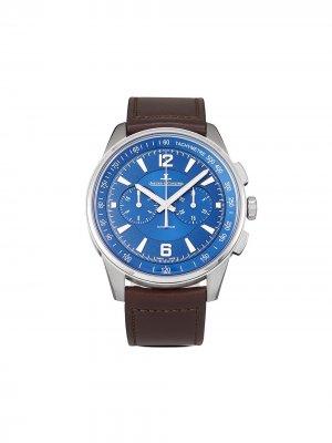 Наручные часы Polaris Chronograph pre-owned 42 мм 2021-го года Jaeger-LeCoultre. Цвет: синий