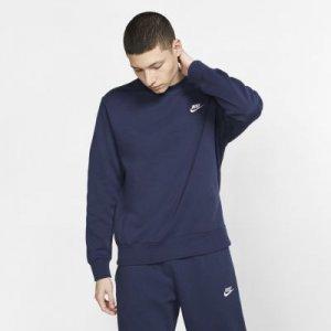 Свитшот Sportswear Club Fleece - Синий Nike