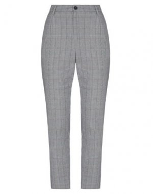 Повседневные брюки ELVINE. Цвет: серый