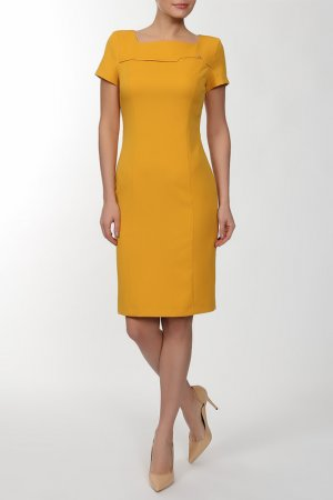 Платье Bovona. Цвет: мультицвет