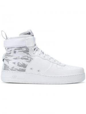 Кроссовки SF Air Force Nike. Цвет: белый