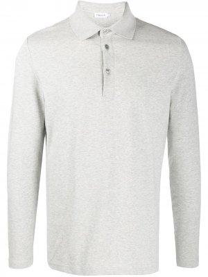 Рубашка-поло Luke с длинными рукавами Filippa K. Цвет: серый