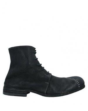 Полусапоги и высокие ботинки 10SEI0OTTO. Цвет: черный