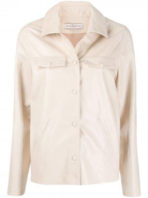 Куртка-рубашка Inès & Maréchal. Цвет: нейтральные цвета