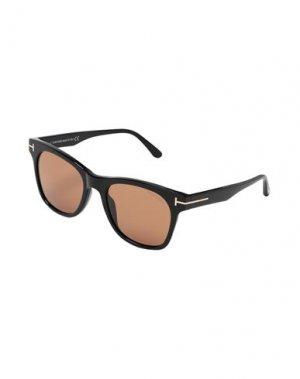 Солнечные очки TOM FORD. Цвет: черный