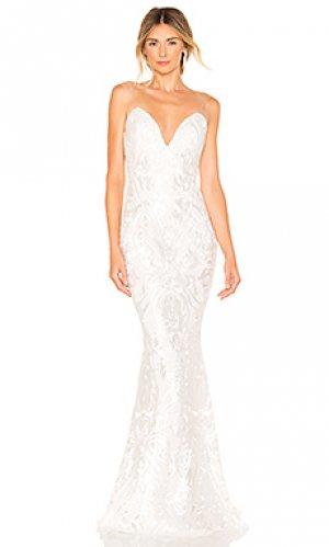 Свадебное платье the lady Katie May. Цвет: белый