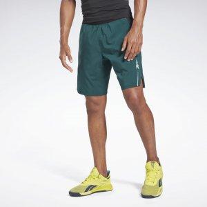Спортивные шорты Epic Lightweight Reebok. Цвет: forest green