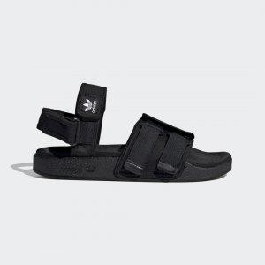 Сандалии New Adilette Originals adidas. Цвет: черный