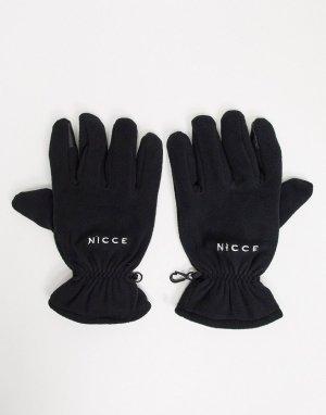 Черные перчатки для сенсорных экранов -Черный Nicce