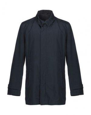 Легкое пальто ADHOC. Цвет: темно-синий