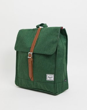 Зеленый портфель-рюкзак -Зеленый цвет Herschel Supply Co