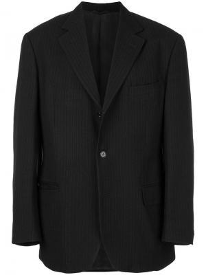 Классический пиджак Romeo Gigli Pre-Owned. Цвет: синий