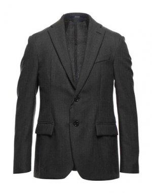 Пиджак DRUMOHR. Цвет: свинцово-серый