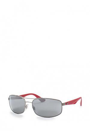 Очки солнцезащитные Ray-Ban® 0RB3527 029/6G. Цвет: серебряный