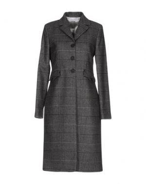 Пальто AU JOUR LE. Цвет: свинцово-серый