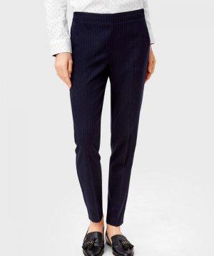 Прямые брюки O`Stin. Цвет: синий