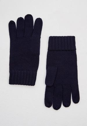 Перчатки Polo Ralph Lauren. Цвет: синий