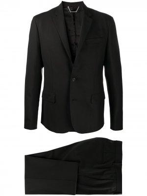 Костюм с однобортным пиджаком John Richmond. Цвет: черный