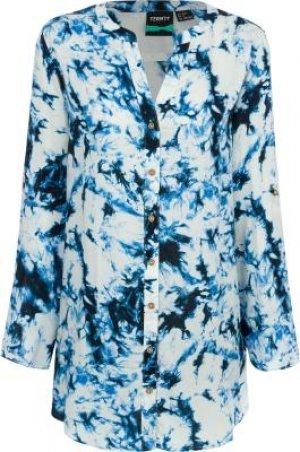Туника женская , размер 42 Termit. Цвет: голубой
