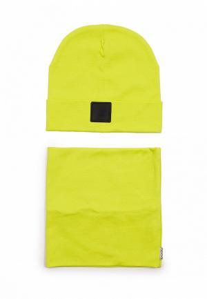 Комплект bodo. Цвет: желтый